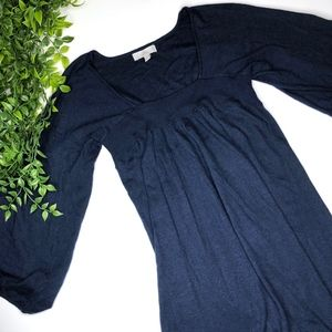 Joie Knit Sweater Dress Size XS Navy Blue